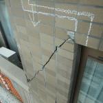 地震災害による外壁補修工事の現状 2021.07.14