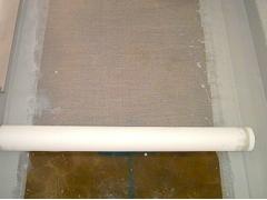 バルコニー床塩ビ防滑シート貼り防水工事の工程4