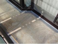 バルコニー床塩ビ防滑シート貼り防水工事の工程9