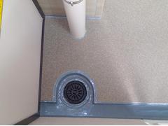 バルコニー床塩ビ防滑シート貼り防水工事の工程15