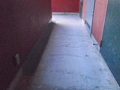 共用廊下の劣化の状況7