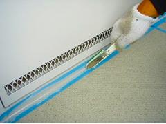共用廊下長尺塩ビシート貼りの工程5