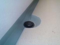 排水溝・巾木ウレタン塗膜防水の工程4