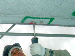 モルタル充填工法(鉄筋爆裂叉は欠損の場合)手順2