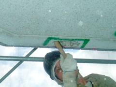 モルタル充填工法(鉄筋爆裂叉は欠損の場合)手順3