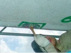 モルタル充填工法(鉄筋爆裂叉は欠損の場合)手順4