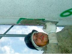 モルタル充填工法(鉄筋爆裂叉は欠損の場合)手順5