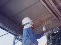 鉄骨階段塗装工程4
