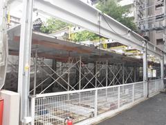 機械式駐車場解体・舗装の工程1