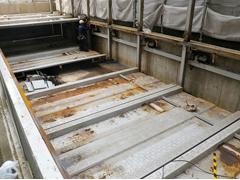 機械式駐車場解体・舗装の工程5