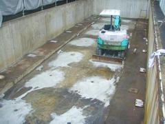 機械式駐車場解体・舗装の工程8