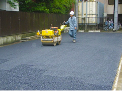 機械式駐車場解体・舗装の工程18