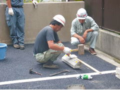 機械式駐車場解体・舗装の工程20