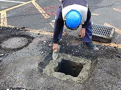 マンション駐車場舗装改修工事工程3