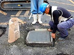 マンション駐車場舗装改修工事工程4