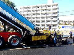 マンション駐車場舗装改修工事工程5