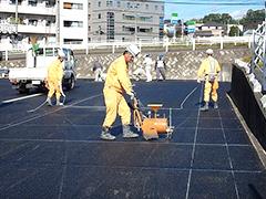マンション駐車場舗装改修工事工程11