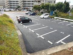 マンション駐車場舗装改修工事工程14