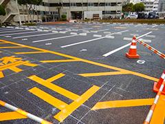マンション駐車場舗装改修工事工程16
