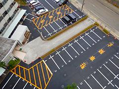 マンション駐車場舗装改修工事工程17