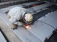 機械式駐車場パレット補修塗装の工程5
