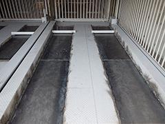 機械式駐車場パレット補修塗装の工程6