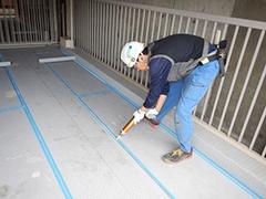 機械式駐車場パレット補修塗装の工程8