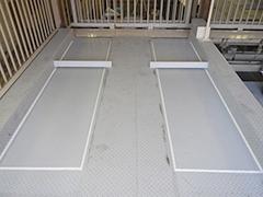 機械式駐車場パレット補修塗装の工程9