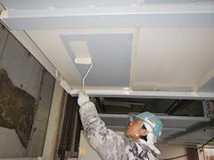 機械式駐車場パレット補修塗装の工程10