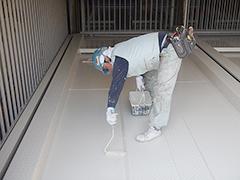 機械式駐車場パレット補修塗装の工程11
