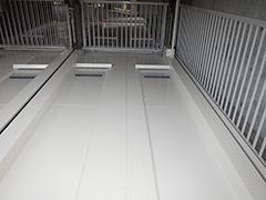 機械式駐車場パレット補修塗装の工程13