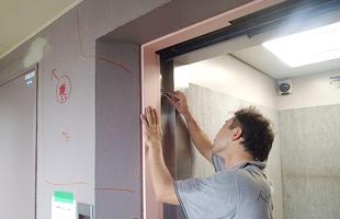 共用廊下 仕上げ塗装