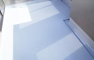 ウレタン塗膜防水完了(4回塗り)