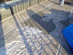 ウレタン塗膜防水工法 施工の状況6