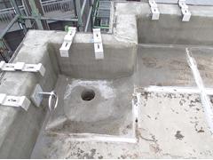 ウレタン塗膜防水工法 施工の状況13