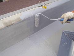 ウレタン塗膜防水工法 施工の状況18
