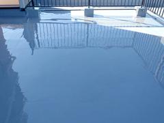 ウレタン塗膜防水工法 施工の状況19