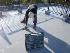ウレタン塗膜防水工法 施工の状況21