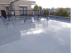 ウレタン塗膜防水工法 施工の状況23