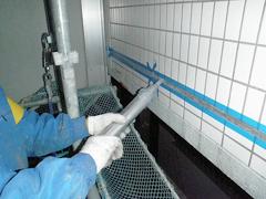 磁器タイル目地シール打替えの工程4