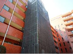 マンション駐車場舗装改修工事工程2