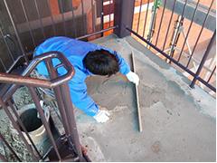 マンション駐車場舗装改修工事工程6