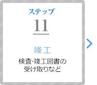 ステップ11:竣工(検査・竣工図書の受け取りなど)
