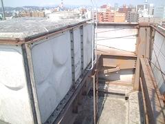 高架水槽架台