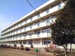 仙台市立向山小学校耐震改修塗装工事イメージ