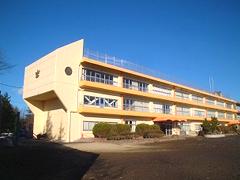 仙台市立吉成小学校耐震改修塗装工事イメージ