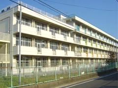 仙台市立古城小学校耐震改修塗装工事イメージ