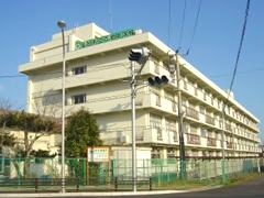 仙台市立六郷中学校耐震改修塗装工事イメージ