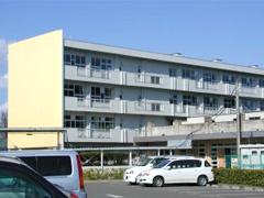県立黒川高等学校耐震改修塗装工事イメージ