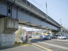 仙台市交通局八乙女第3架道橋塗装工事イメージ